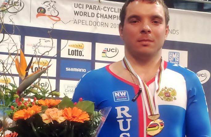 Паравелогонщик Сергей Батуков