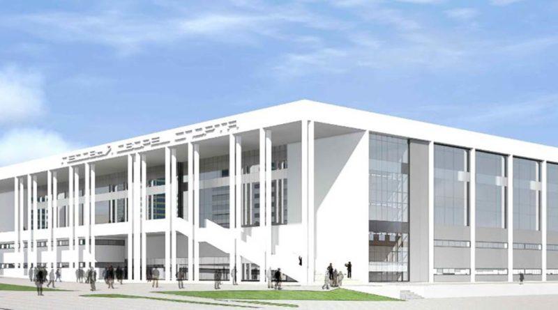 Проект Дворца спорта ЦСК ВВС