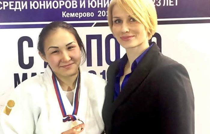 Дилбара Салкарбек, дзюдо Самара