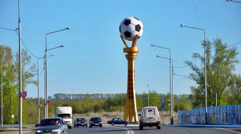"""Председатель оргкомитета """"Россия-2018"""" Виталий Мутко не исключил, что на саранском стадионе может сыграть сборная России."""