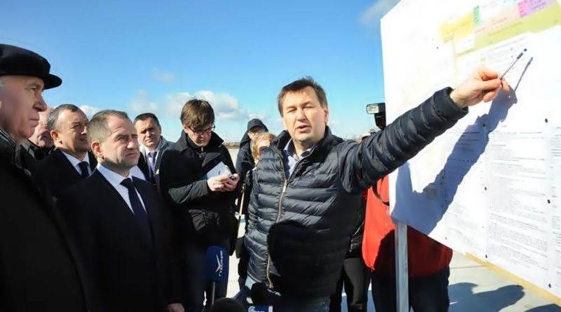 """Михаил Бабич посетил стадион """"Самара Арена"""""""