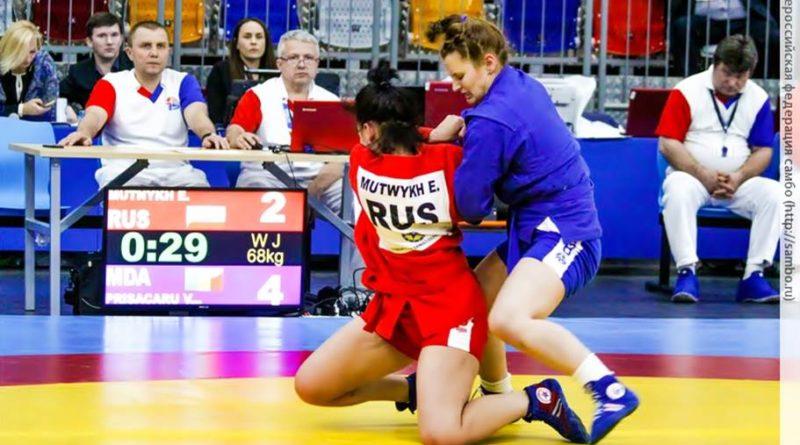 Екатерина Мутных завоевала серебро на первенстве Европы по самбо