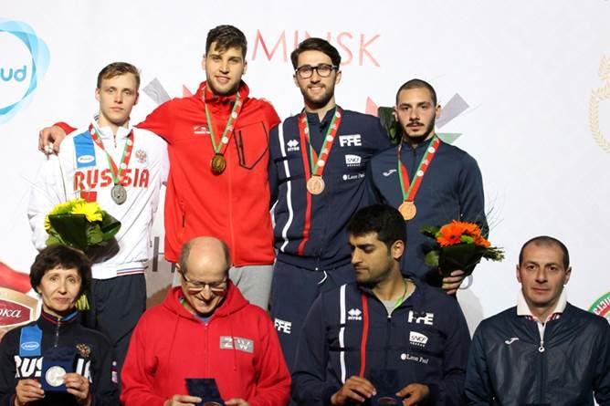 Кирилл Бородачев завоевал серебро на первенстве Европы