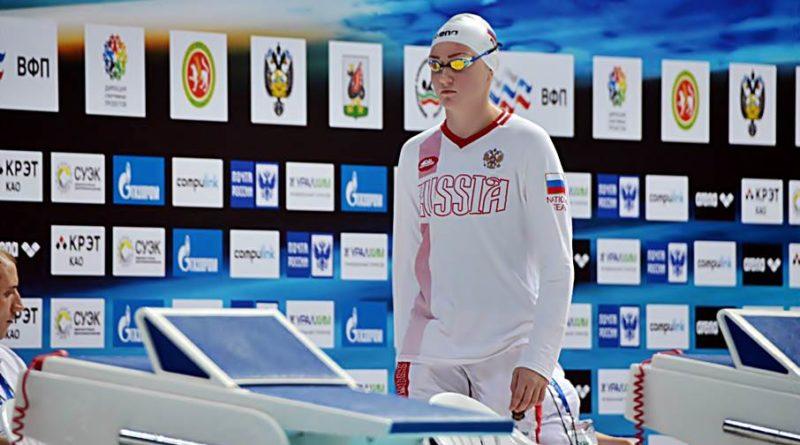 Ирана Кривоногова победила на чемпионате России по плаванию