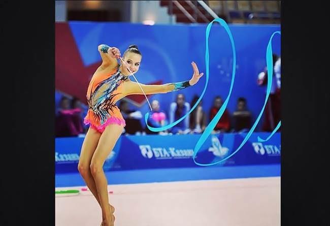 Ксения Полякова, художественная гимнастика