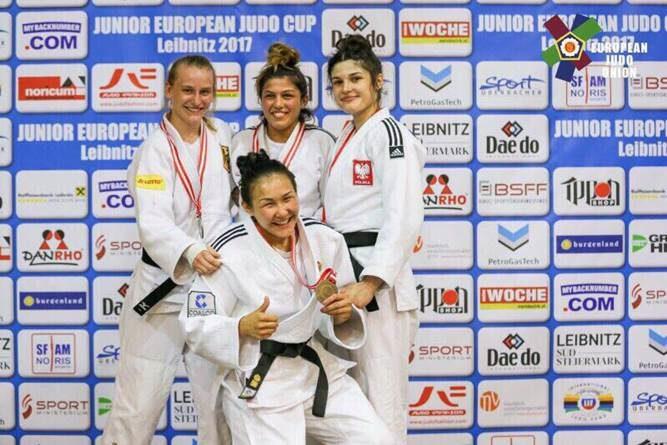 Самарская дзюдоистка завоевала бронзу в Австрии