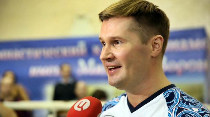Олимпийский чемпион Алексей Немов