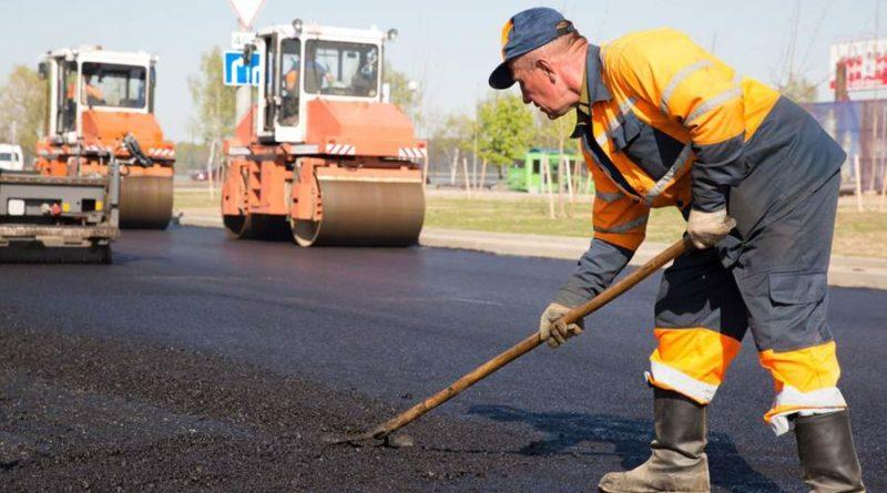 Ремонт Волжского шоссе в Самаре