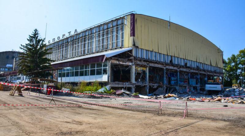 Снос Дворца спорта ЦСК ВВС в Самаре