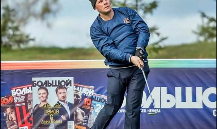 Артем Нестеров, гольф