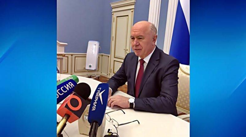 Николай Меркушкин, последняя пресс-конференция