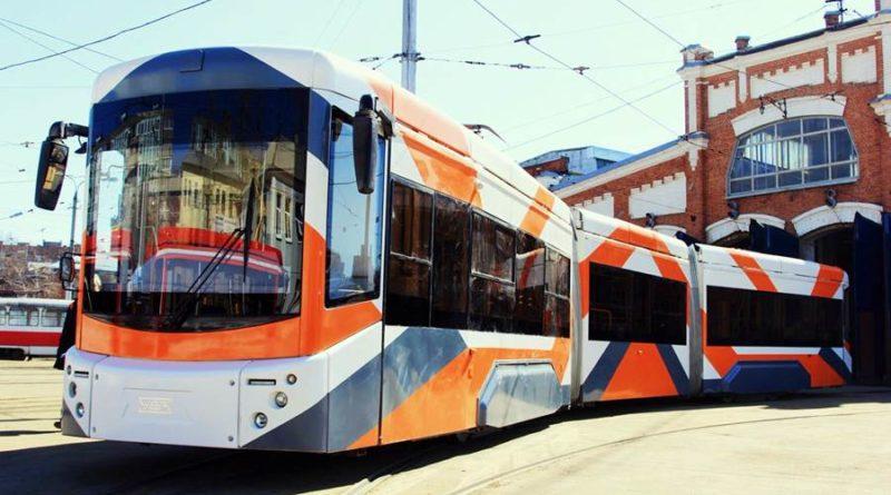 Трамвай на ЧМ-2018 в Самаре
