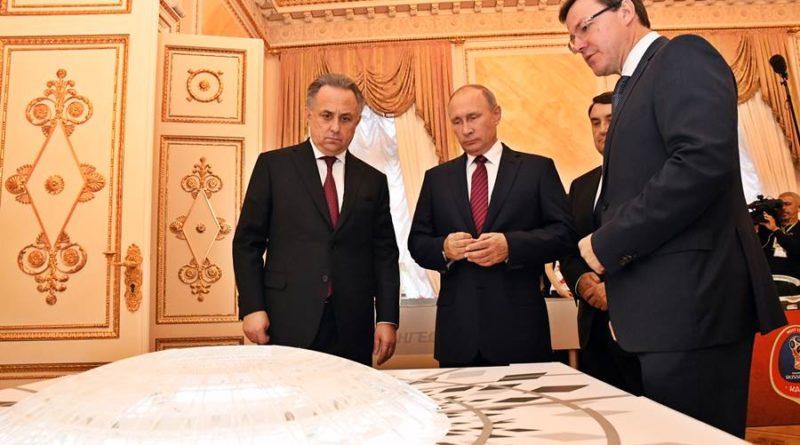 Дмитрий Азаров, Владимир Путин, Виталий Мутко