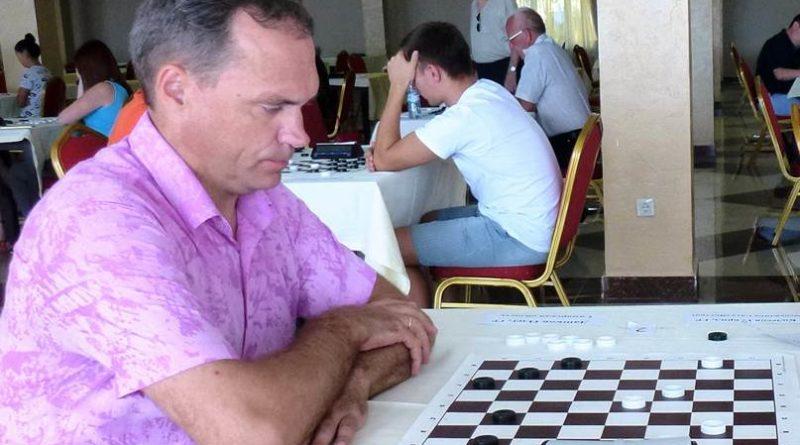 Олег Дашков, шашки