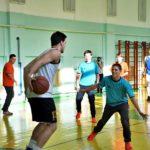 Баскетболисты БК «Самара» провели тренировку в школе-интернате