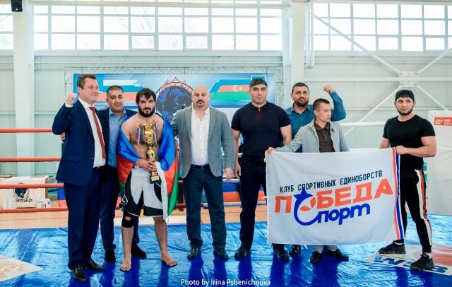 Открытый турнир по ММА в Ульяновске