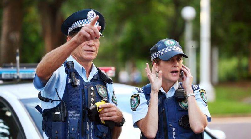 Австралийский полицейский