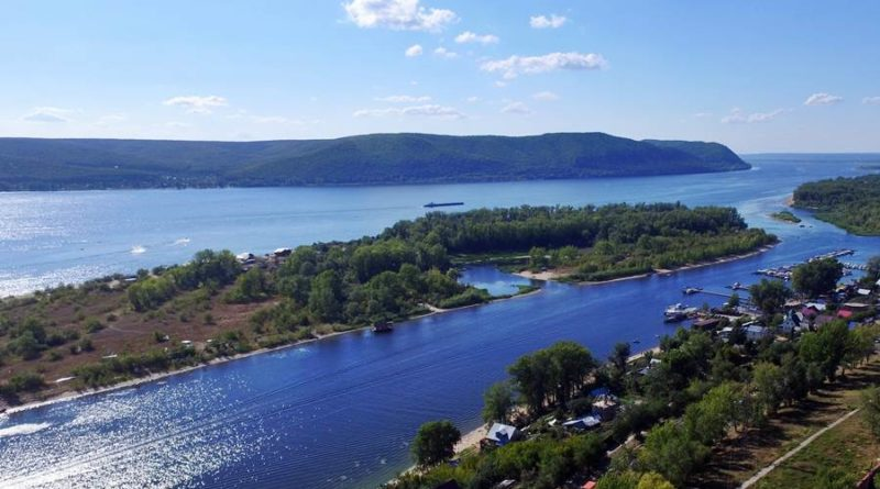 Река Волга Самара