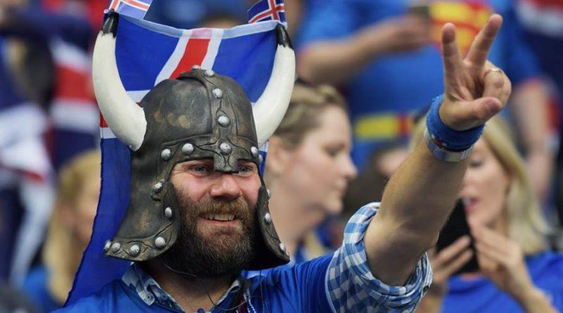 Болельщик Дания викинг