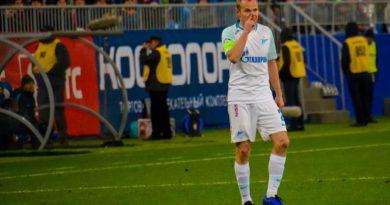 В предстоящем матче с «Зенитом» Анюков не будет играть против «своих»