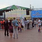 Самарцы отпраздновали День физкультурника под непрекращающимся дождем