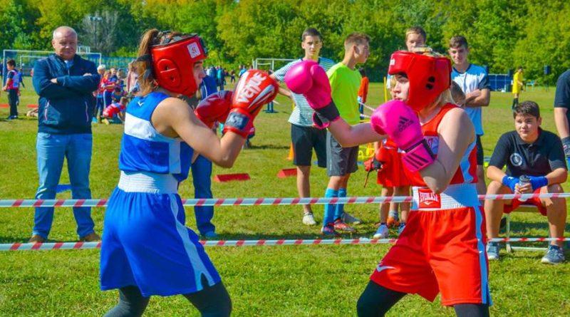 День города в Похвистнево начался с боксерских поединков