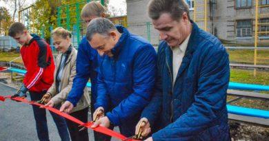 У жителей Запанского появилось новое футбольное поле